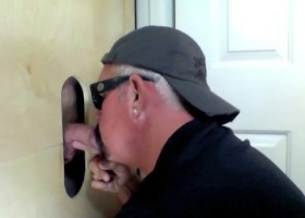 University Professor Gets Blown At Gloryhole