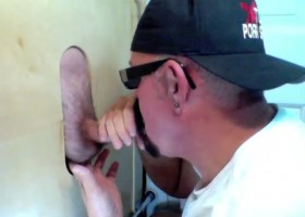 TGIF Gloryhole Cock Sucking and Cum Swallow
