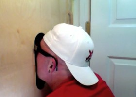 Married Guy Loves These Gloryhole Blowjobs