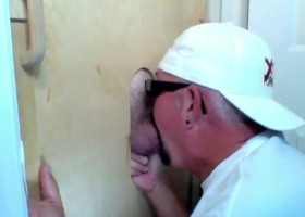 Licking Latin Cocks At The Gloryhole
