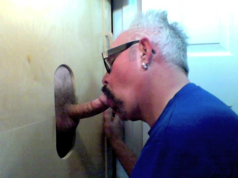 Gloryhole suck off