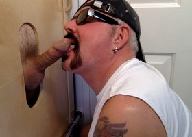 Soccer Daddy Can't Get Enough Gloryhole Action