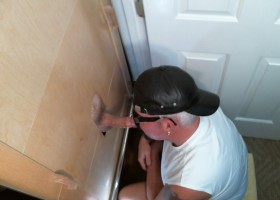 Married Dad Cums At Gloryhole Once More