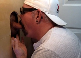 Gloryhole Suck Off of Guy With 3 Day Load