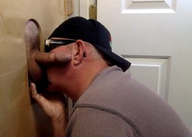 Soccer Dad Takes Break At Gloryhole
