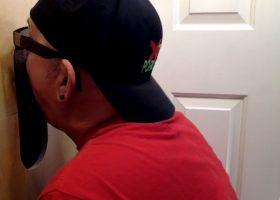 Young Married Guy At The Gloryhole