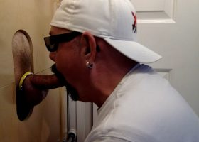 Married Daddy Tries The Gloryhole