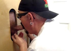 Business Man Get Nut Drained At Gloryhole