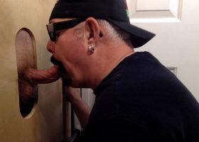 Just Married and Loves The Gloryhole BJs