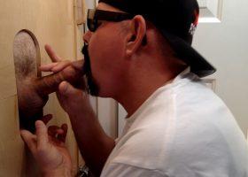 Business Man Needs Gloryhole Deep Throat BJ