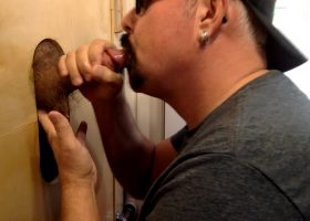 Young Married Guy At Gloryhole For Head
