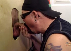 Blue Collar Gloryhole Suck Off