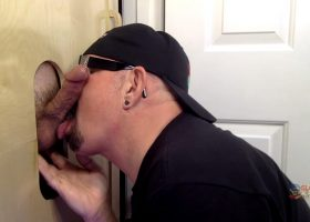 Collage Boy Cock At The Gloryhole