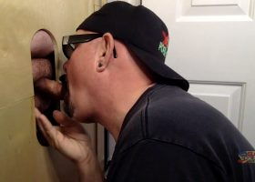 Milking Time At The Gloryhole