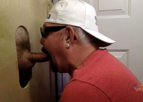 Good Morning Gloryhole Blow Job