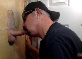 Back For Another Gloryhole Blow Job