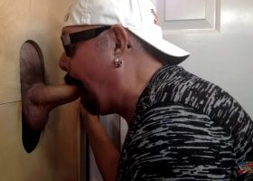 New Fat Cock At The Gloryhole