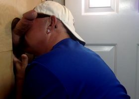 Big Daddy Meat Gets Blown At The Gloryhole