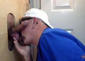 Giving Good Head At The Gloryhole
