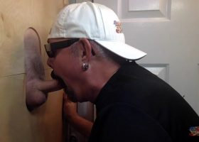 Thick Dick Daddy Back At The Gloryhole