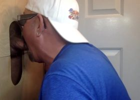 Latino Dad First Time At A Gloryhole