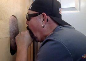 Sucking Business Guy At The Gloryhole
