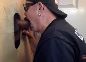 Blowing Big Cock At The Gloryhole