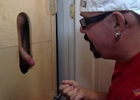 Young Married Man Sucked At The Gloryhole