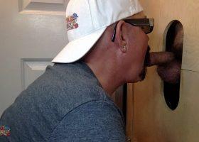 Construction Guy Needs Head At The Gloryhole