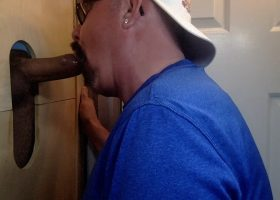 Big Cock Delivers At The Gloryhole