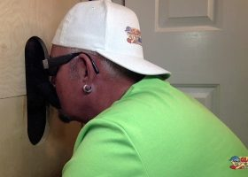 Gloryhole Cock Feed and Getting Fucked