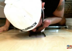 Gloryhole BJ For My Construction Buddy