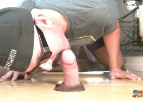 Thick Dick and Loaded At The Gloryhole