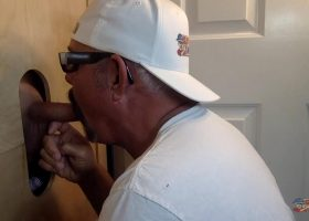 Gloryhole Blow and Fuck