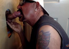 Friday Night Gloryhole Blow Job