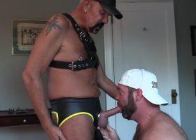 Daddy Stew Barebacks Topher Phoenix