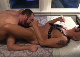 Daddy Stew Barebacks Topher Phoenix
