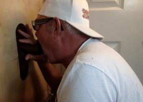 Another Satisfied Cock At The Gloryhole