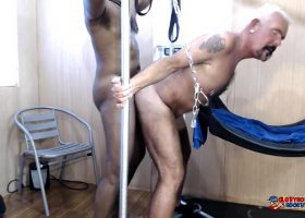 Daddies Wild Fuck From Sling To Floor