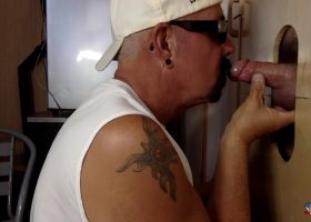 Blue Collar Gloryhole Blowjob