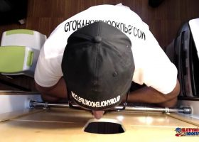 Construction Man Needs Gloryhole Blowjob