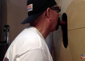 Dad Ready To Unload At The Gloryhole
