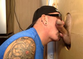 Construction Worker Gloryhole Milked