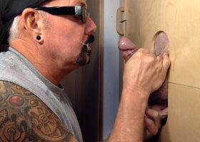 Two Cocks At The Gloryhole
