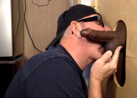 Fat Black Cock At The Gloryhole