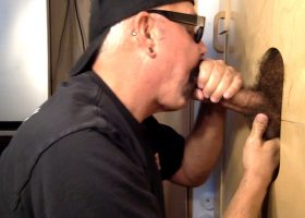 Gym Daddy At The Gloryhole