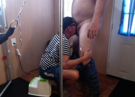 Morning Quickie At The Gloryhole