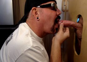 Young Guy Gets Gloryhole Blowjob