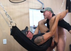 Edge Him and Sling Fuck Me Raw
